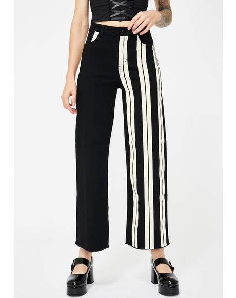 Delightful Fright Wide Leg Jeans