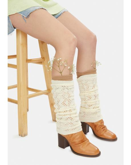 Double Diamond Legwarmers
