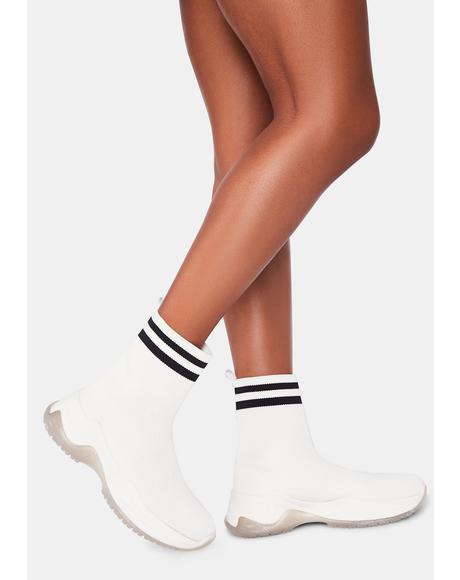 Outta Ur League Sock Sneakers