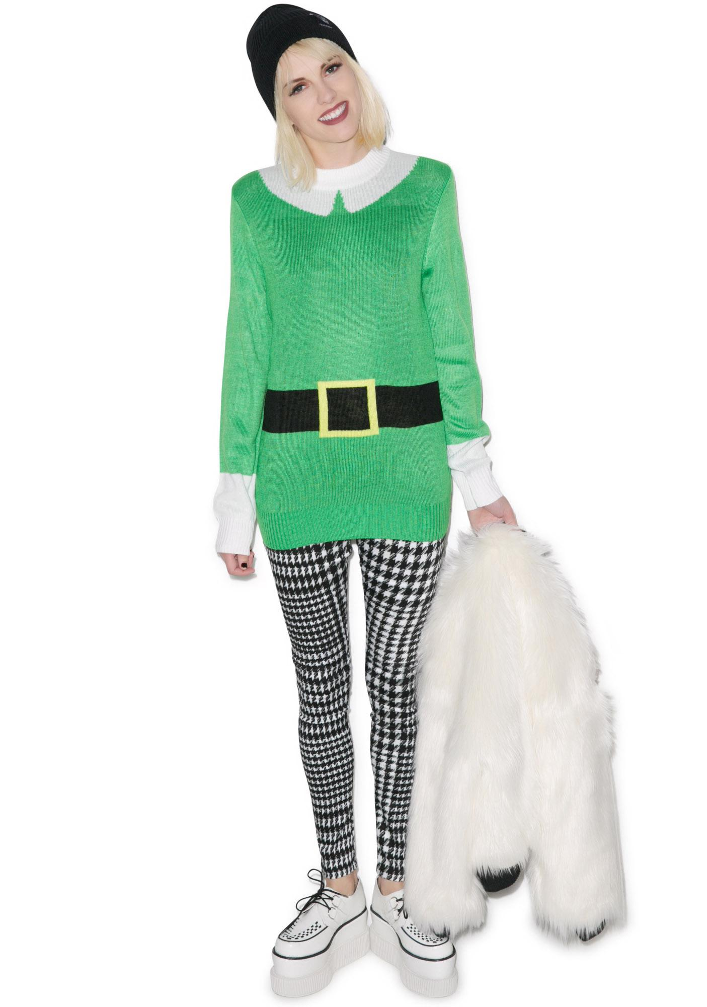 Tipsy Elves Elf Sweater