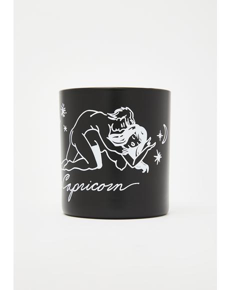 Capricorn Zodiac Massage Candle