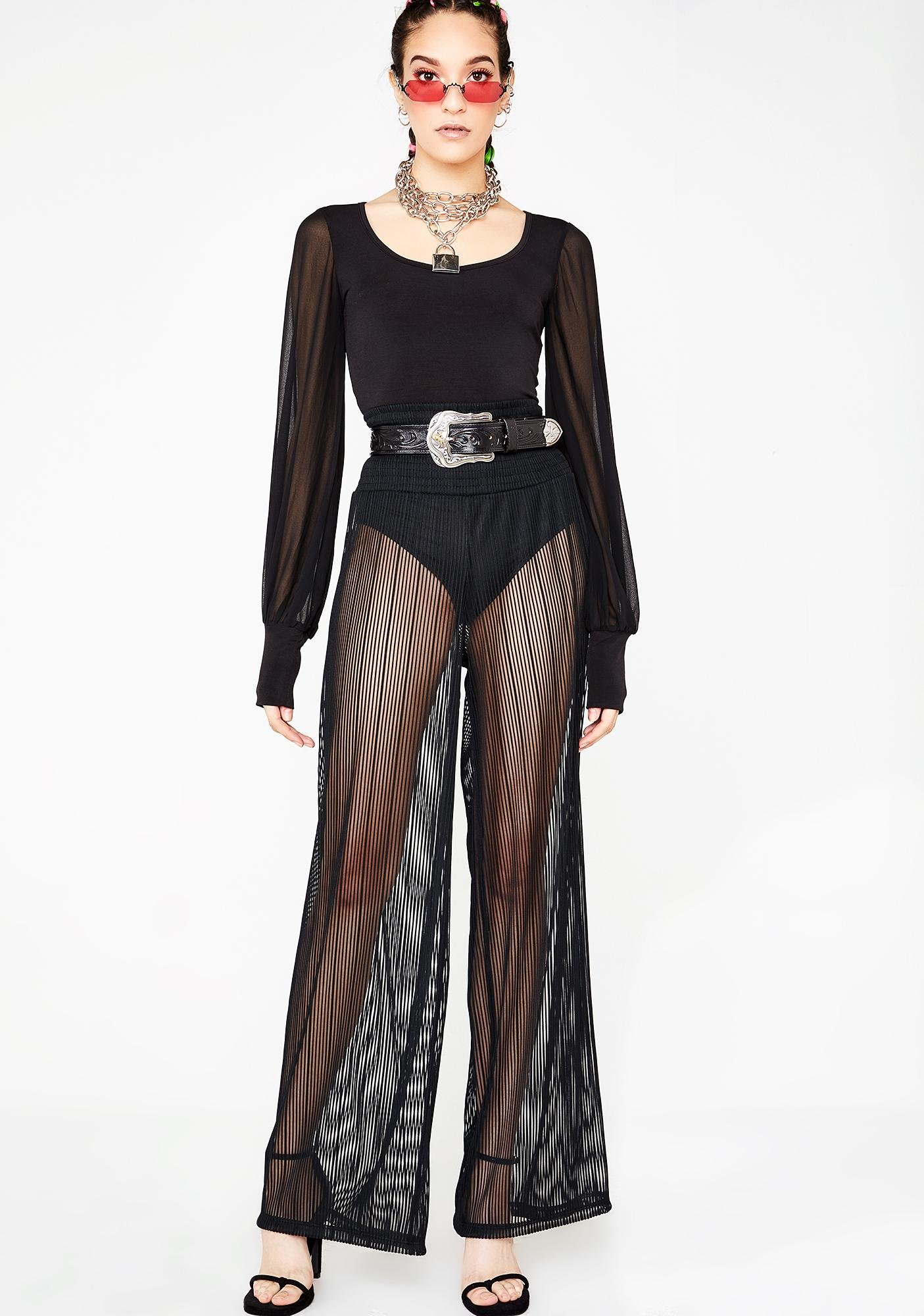 Kiki Riki Quick Flash Sheer Trousers