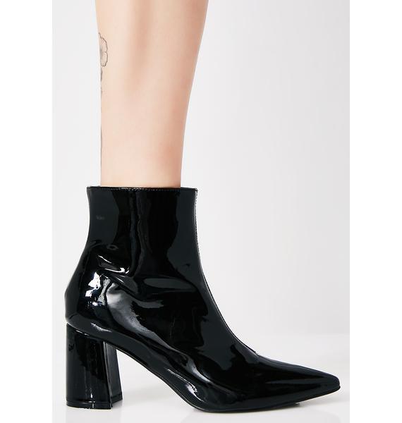 Onyx Bulletproof Steel Ankle Boots