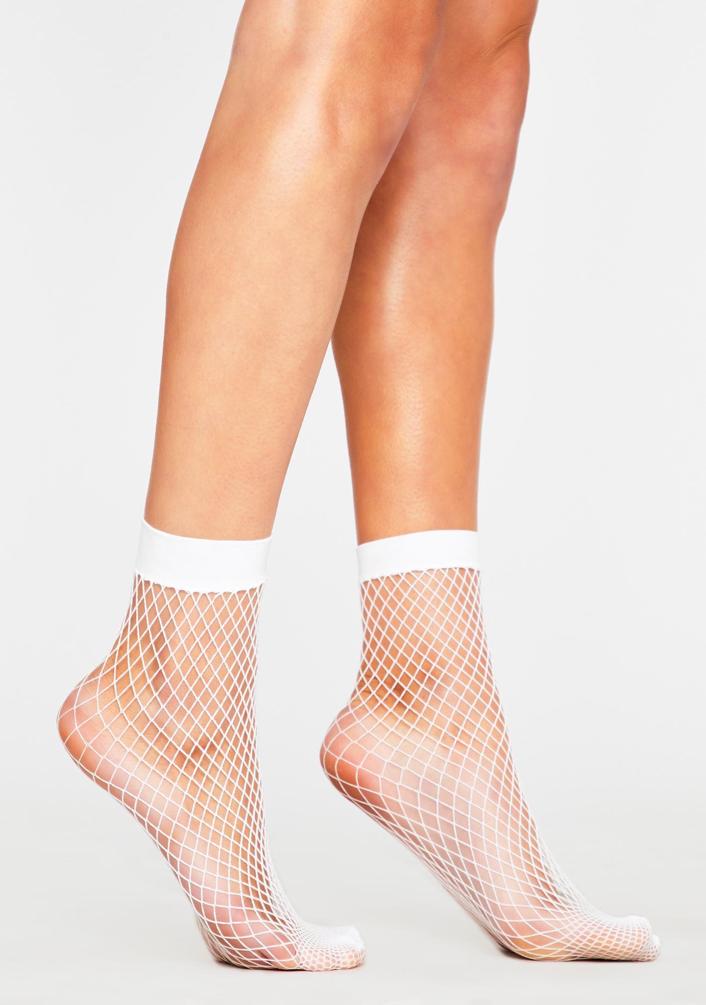 Timeless Threat Fishnet Socks