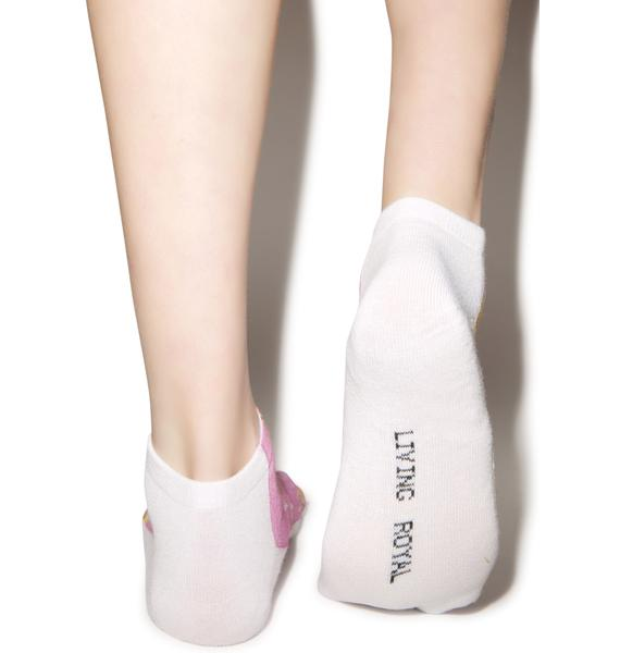 Junk Food Heaven Ankle Socks