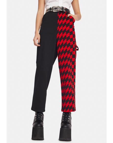 Warped Checkered Pants