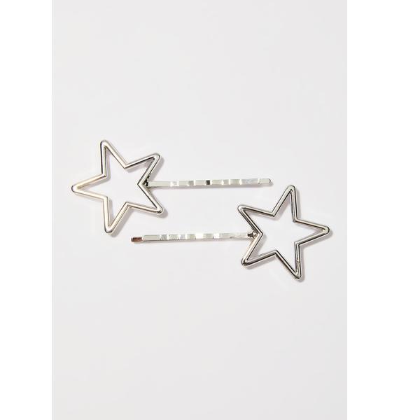 Silver Stars Be Shinin' Pins