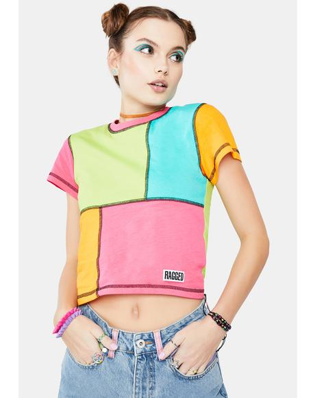 Jam Colorblock Short Sleeve Tee