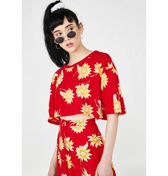 Motel Super Cropped Tee