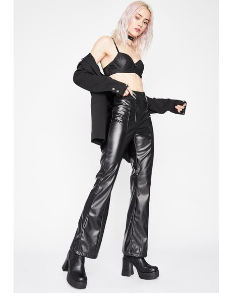 Undercover Baddie Flare Pants