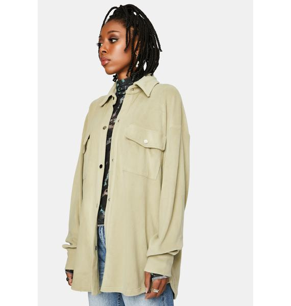 Bailey Rose Sage Shirt Jacket