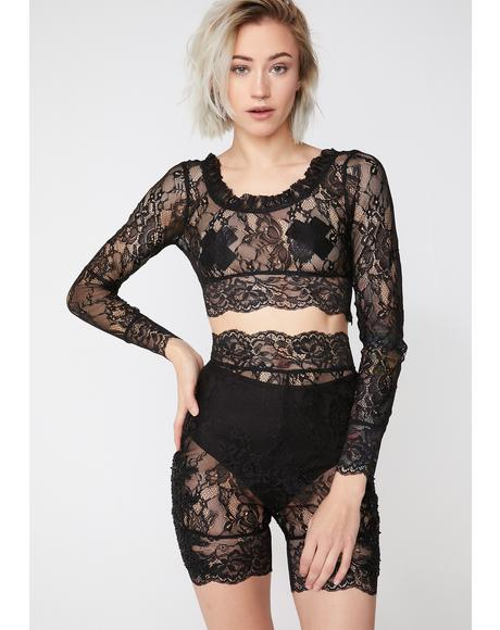 Naughty Nirvana Lace Set
