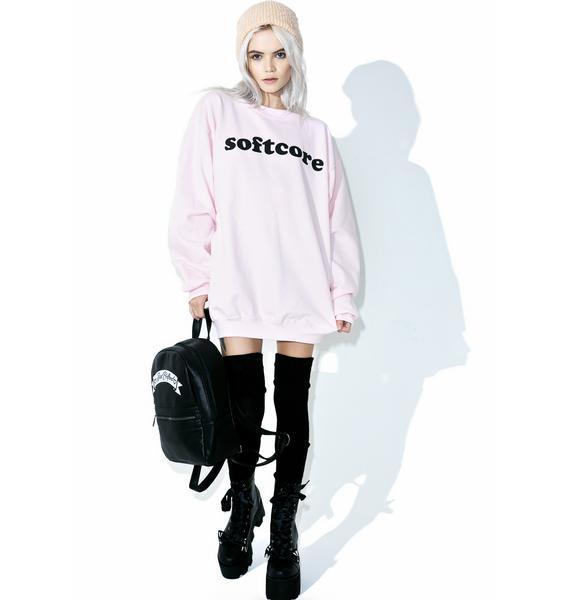 Petals and Peacocks Softcore Sweatshirt
