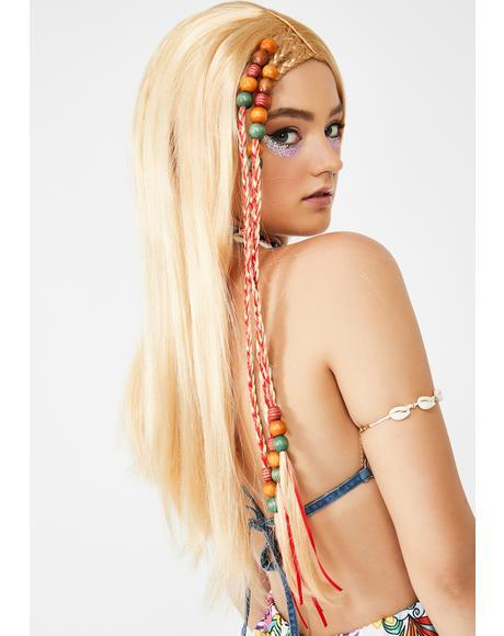 Summer Of Love Hippie Wig