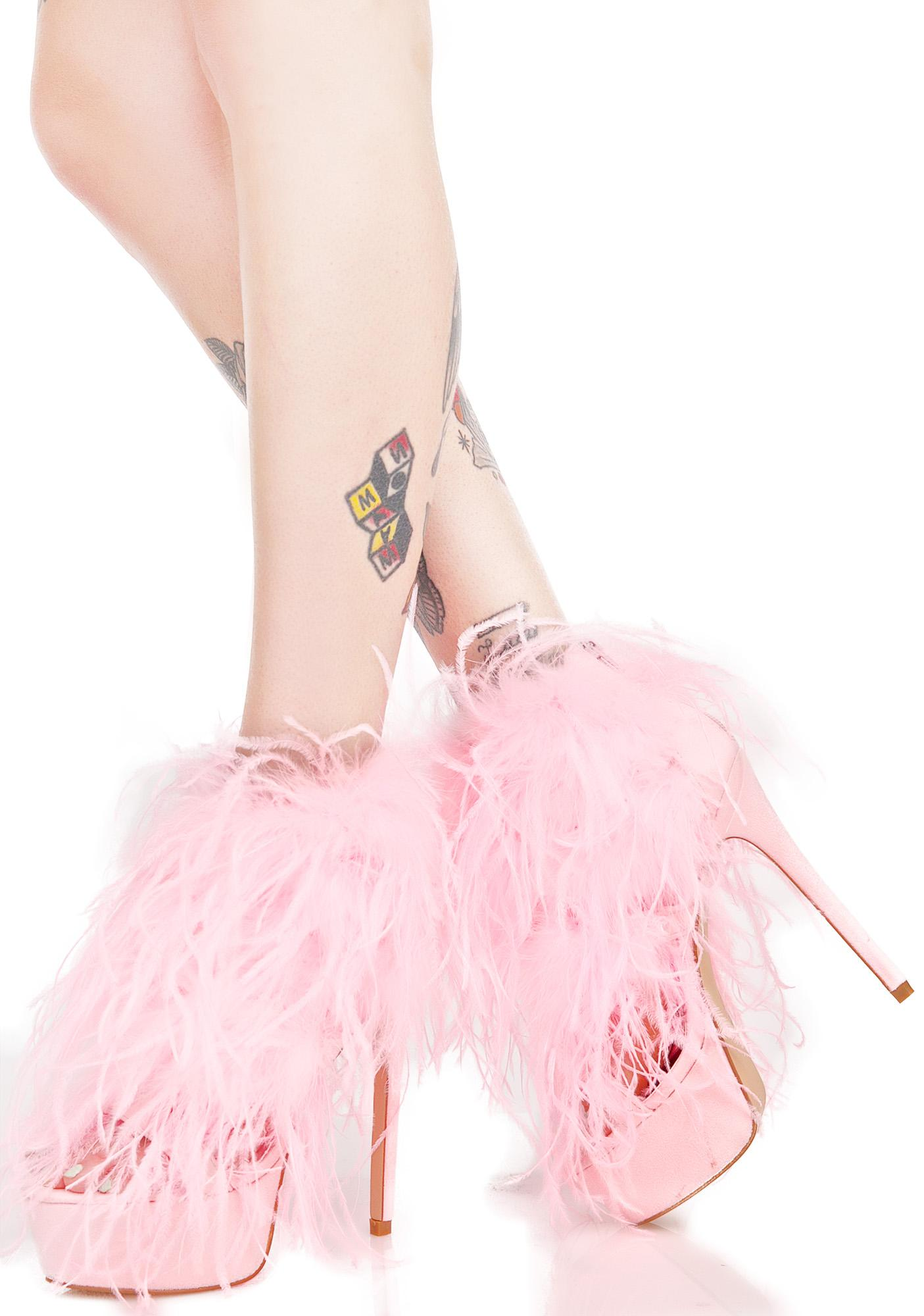 Privileged Chelsea Fluffy Heels