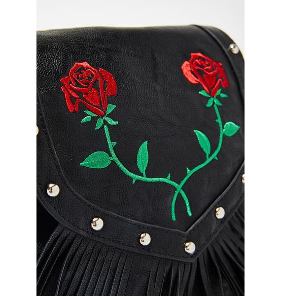 HOROSCOPEZ Love Empress Fringe Backpack