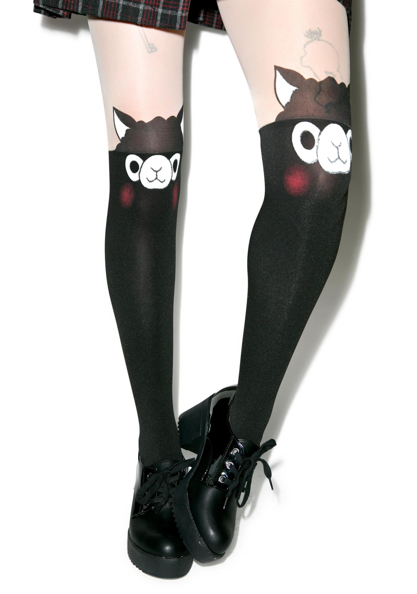 Alpaca Tights