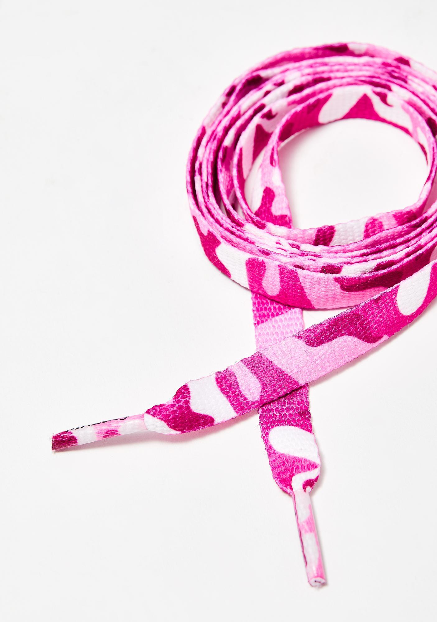 Mr. Lacy Pink Camo Printies