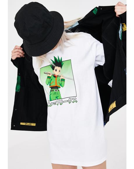 X Hunter x Hunter Gon Character Graphic Tee