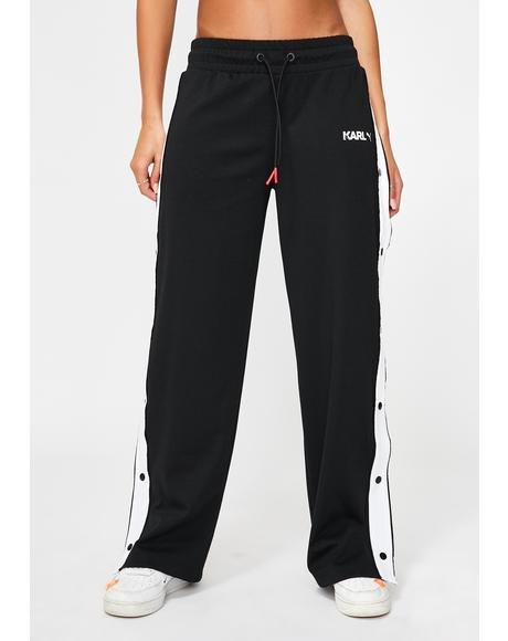 X Karl Lagerfeld Wide Pants