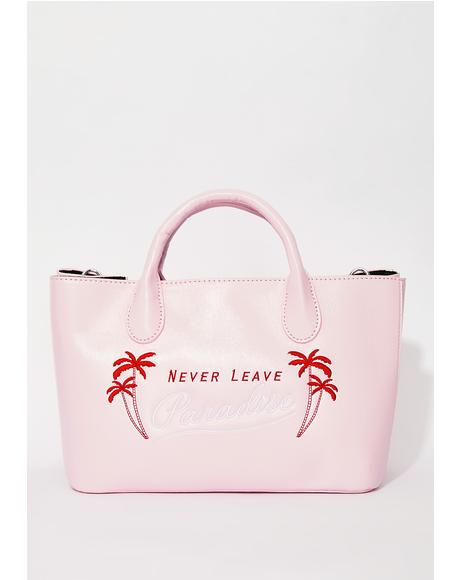 Never Leave Paradise Tote Bag
