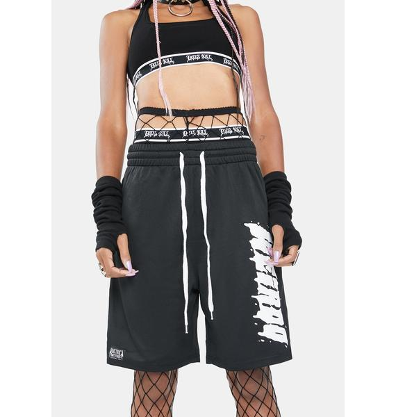 Electric Witch Weirdo Gym Shorts