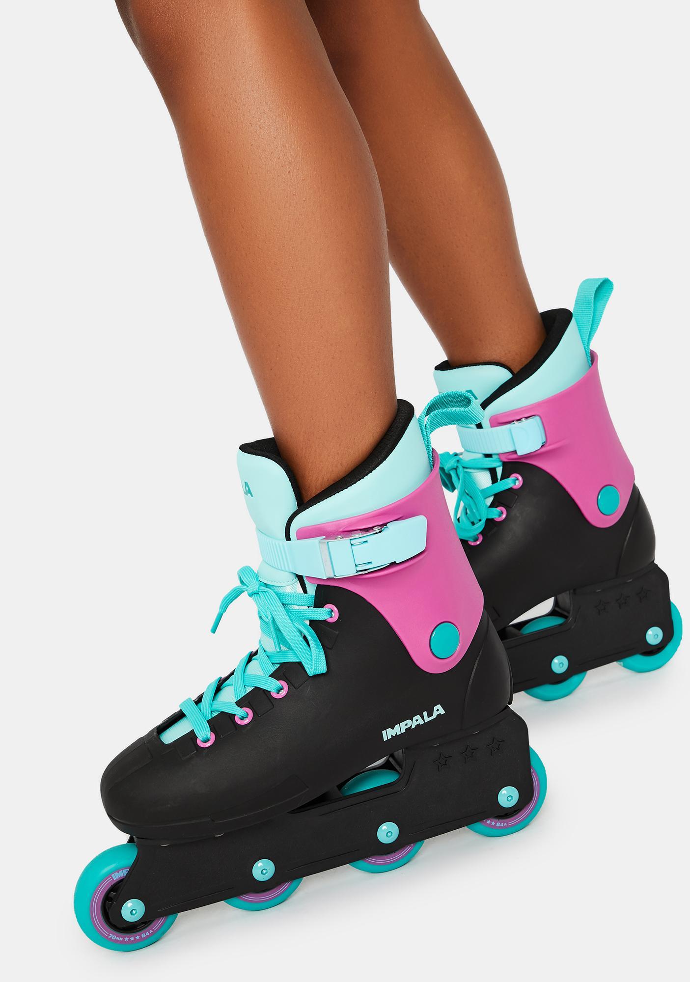 Impala Rollerskates Black Berry Lightspeed Inline Skate
