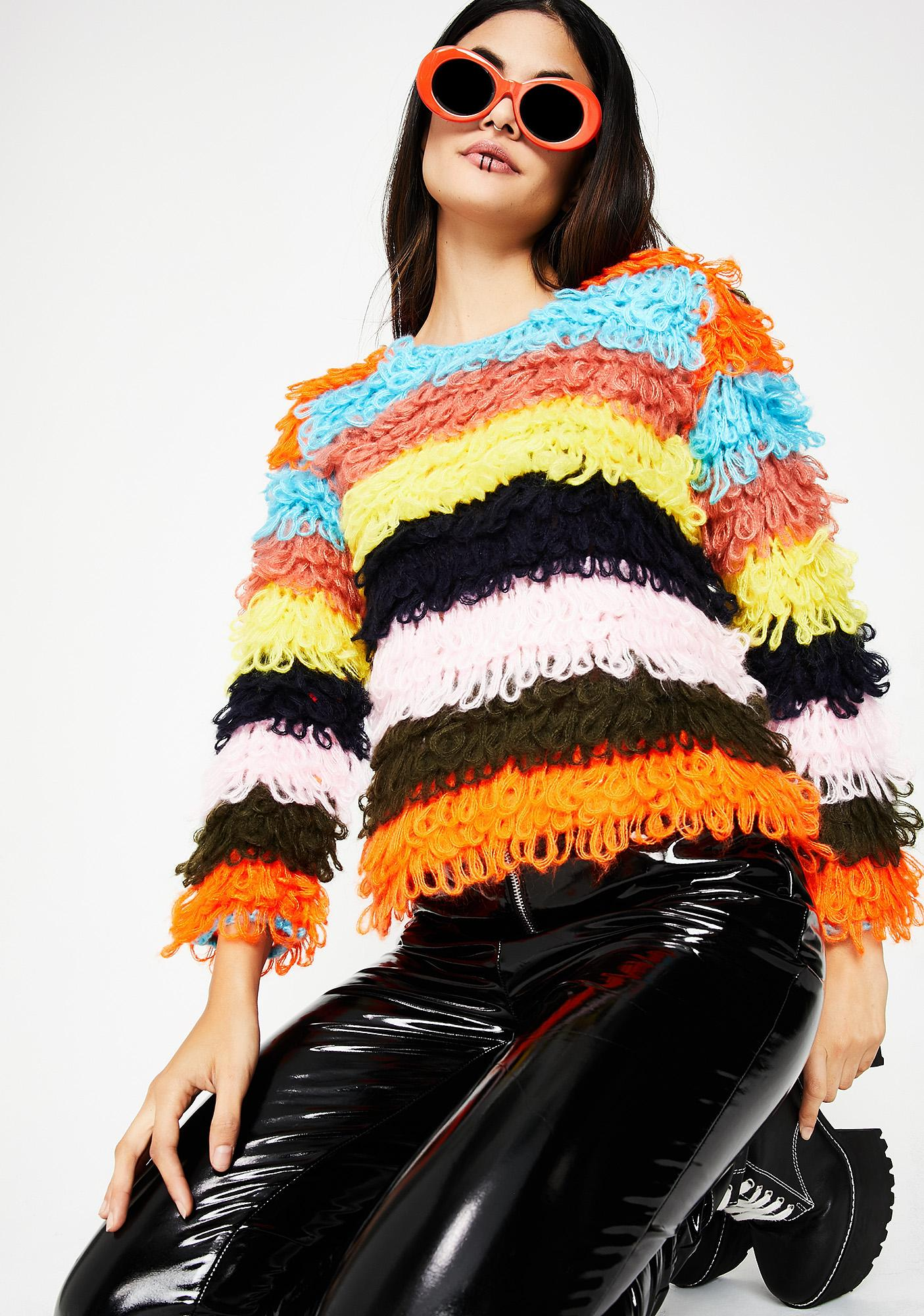 Not Your Average Shaggy Sweater