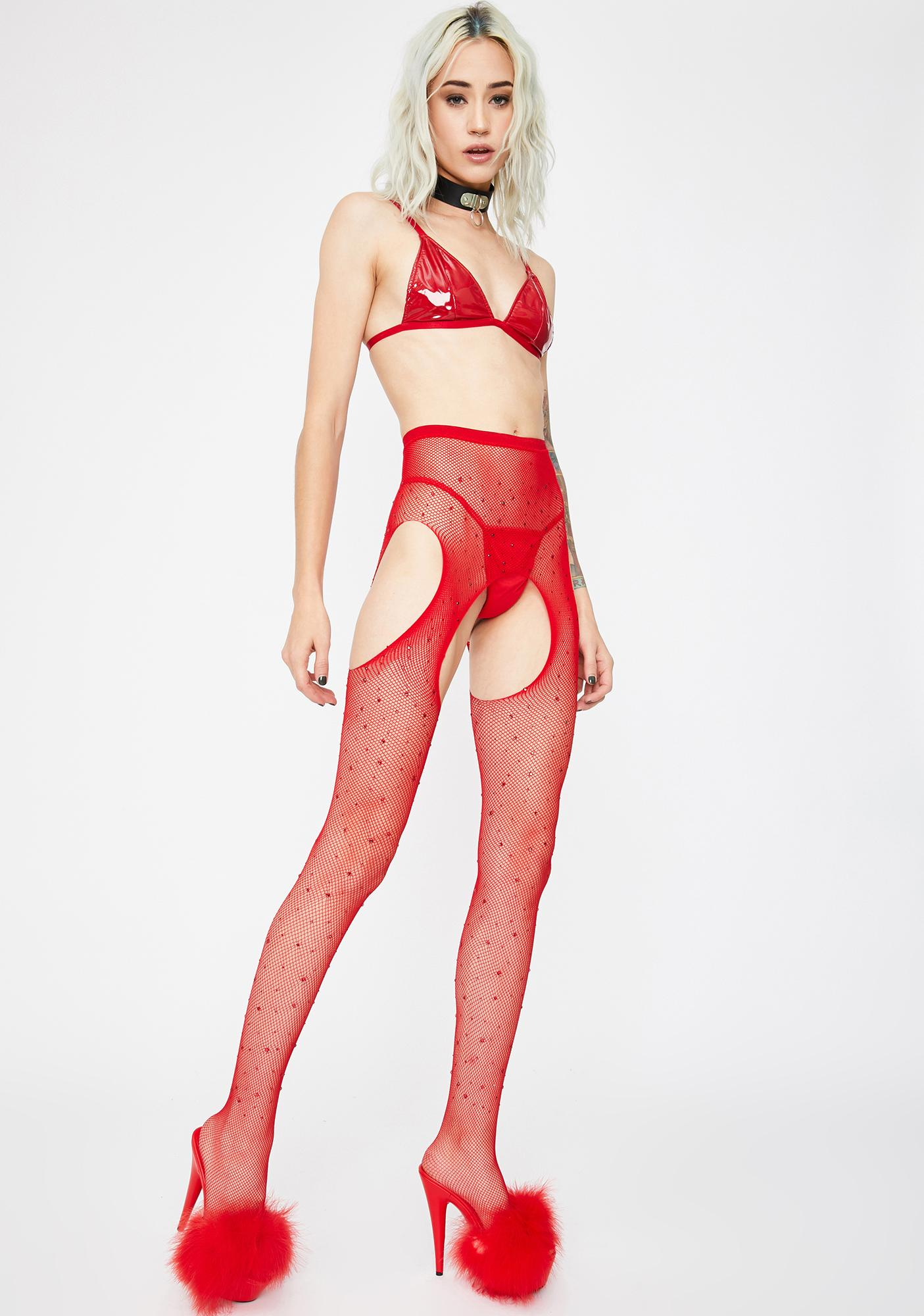 Holly Sparkle Bliss Fishnet Tights