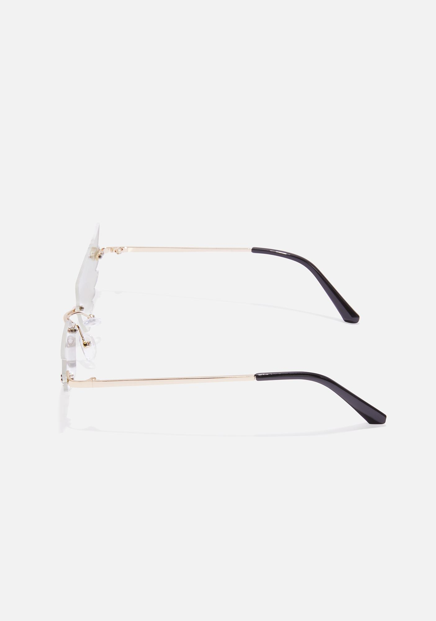 Gilded Birds Of A Feather Wing Sunglasses