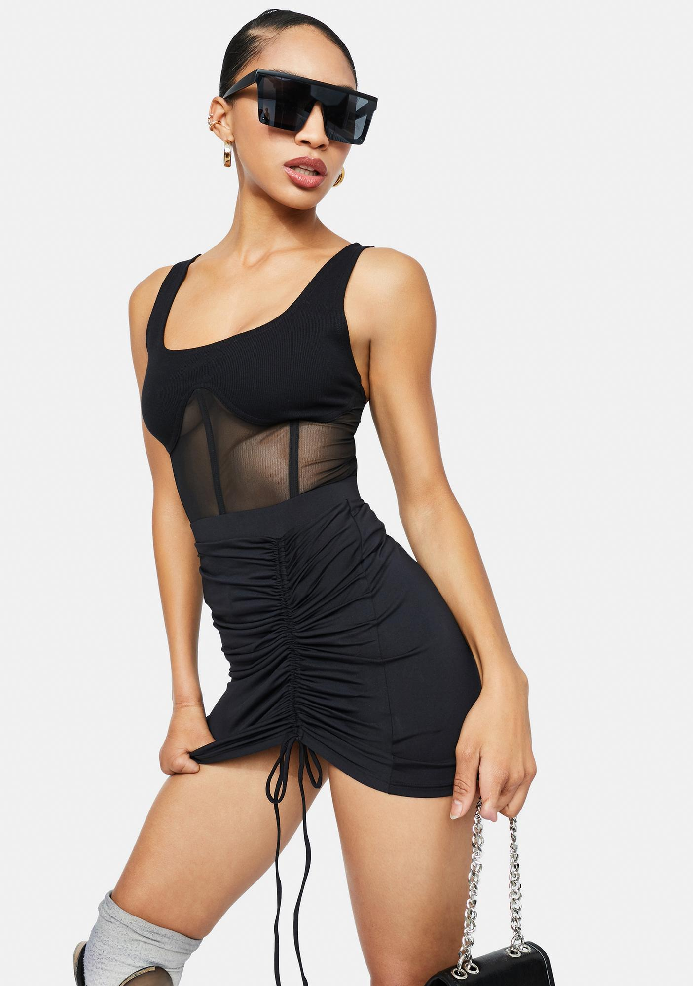 Poster Grl Going Faster Underwire Tank Top