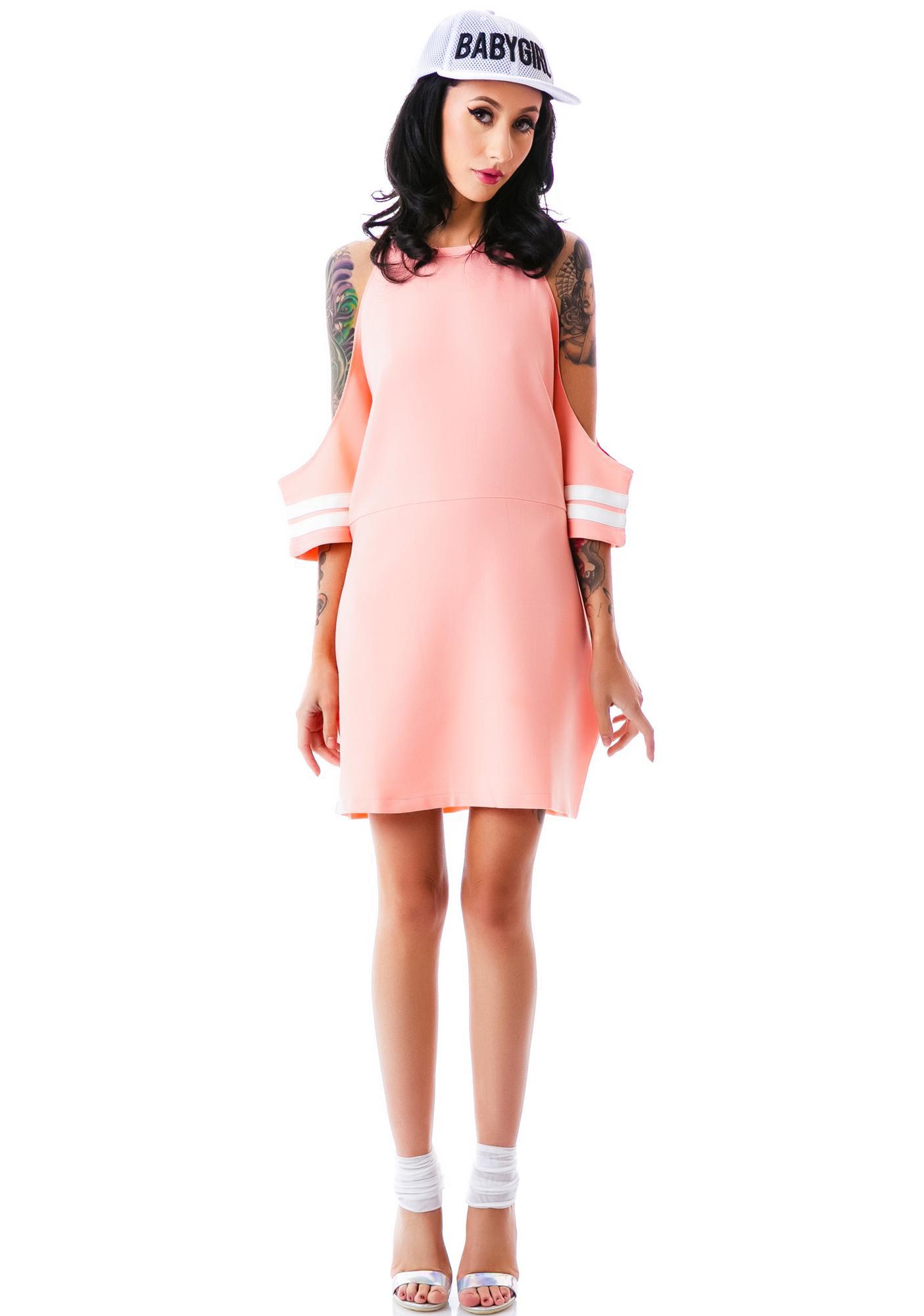 Luv Tracks Off The Shoulder Dress