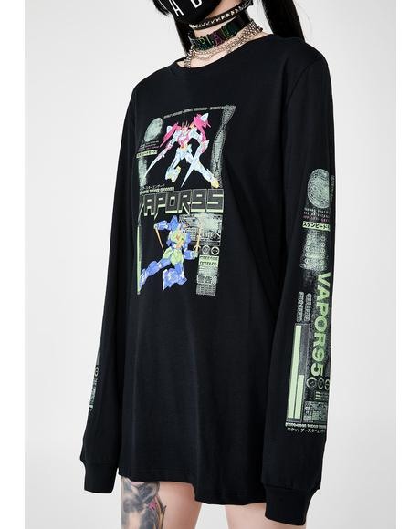 Mech Suit Long Sleeve Tee