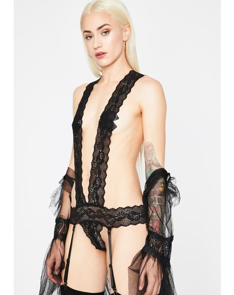 Barely Legal Lace Teddy
