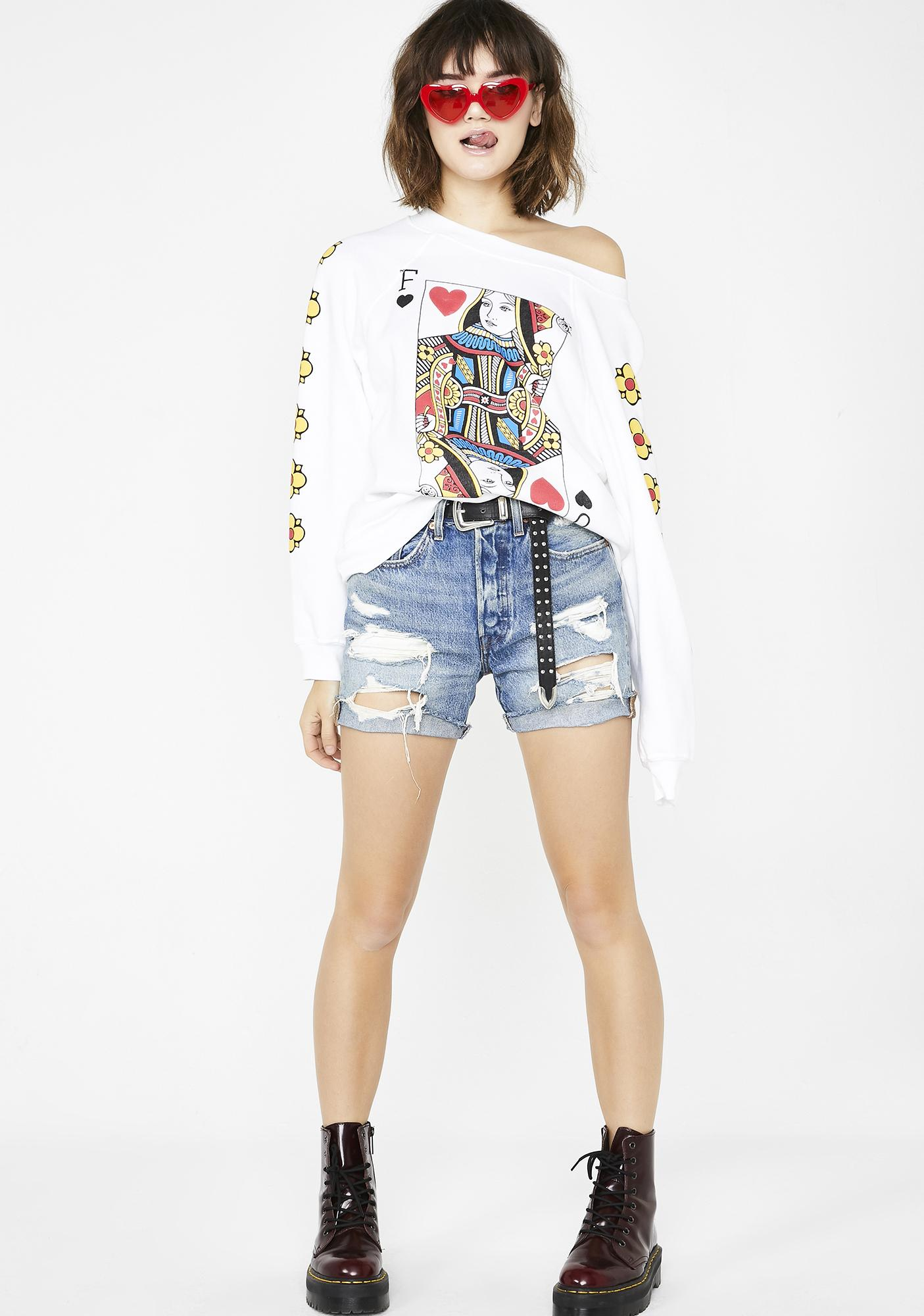 Wildfox Couture Queen Of The Damned Sommers Sweater