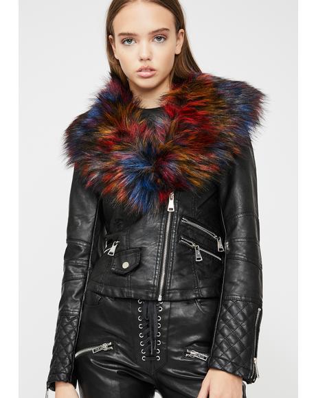 Rainbow Abel Leather Jacket