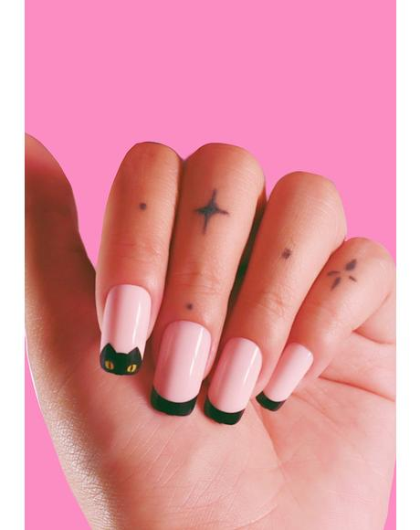 Feline Fine Press On Nails