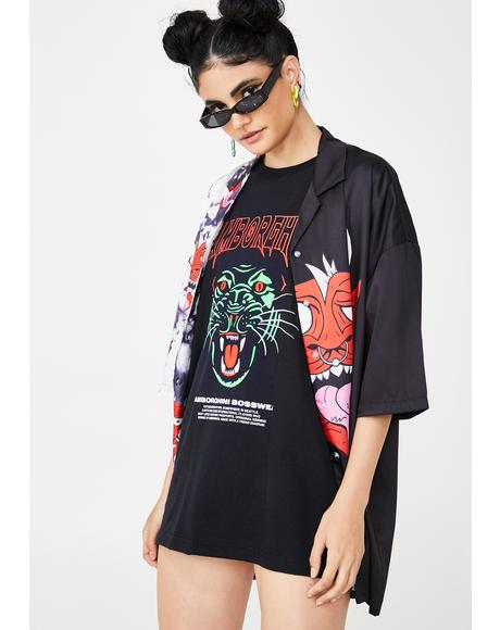 Panther Glow Graphic Tee