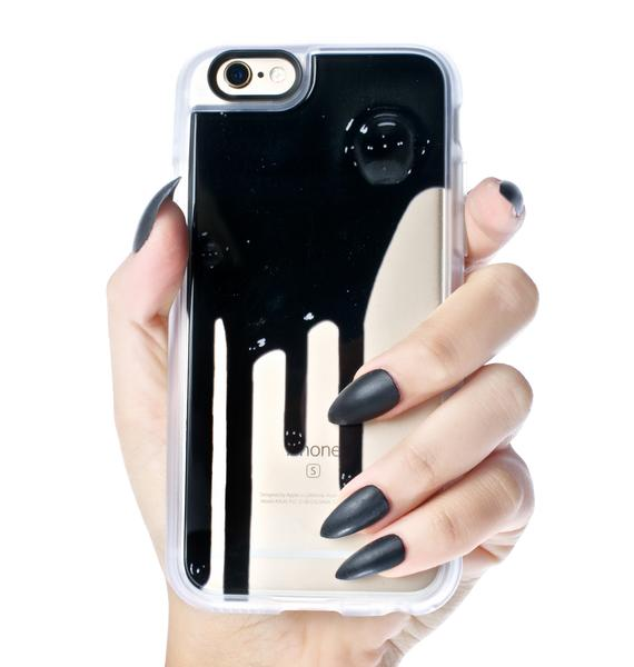 Casetify Blaq Drip iPhone 6/6S Case