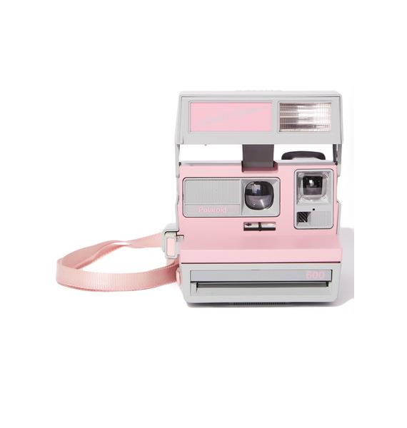 The Impossible Project Pink Polaroid 600 Cool Cam