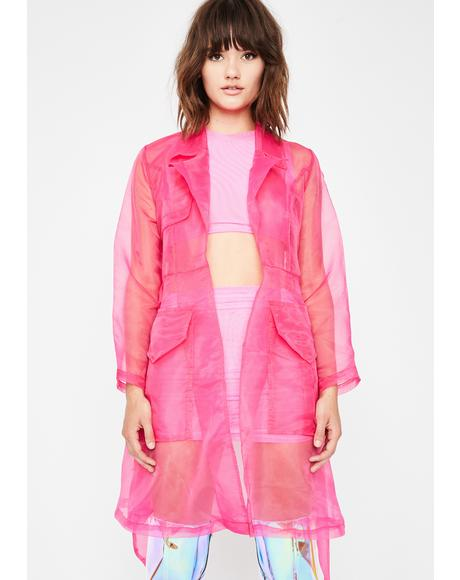 Mystic Rain Sheer Trench