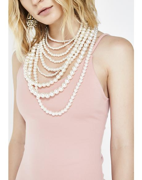 Unda The Sea Pearl Necklace