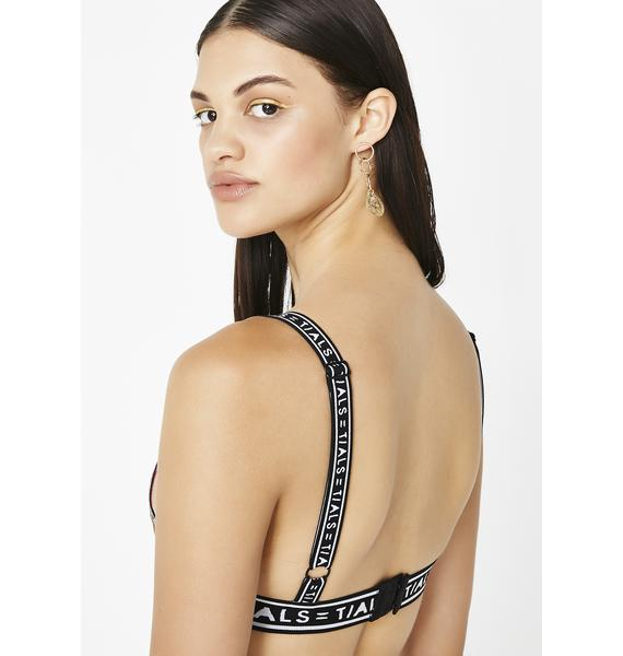This Is A Love Song x Baroque Fire Bondage Bra
