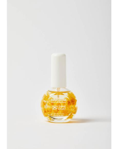 Yellow High Shine Top Coat
