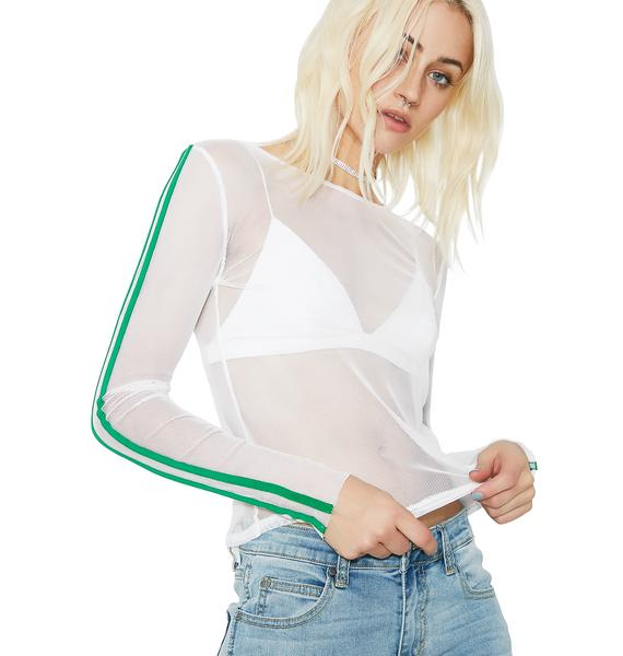 Leaf Real Deal Sheer Top