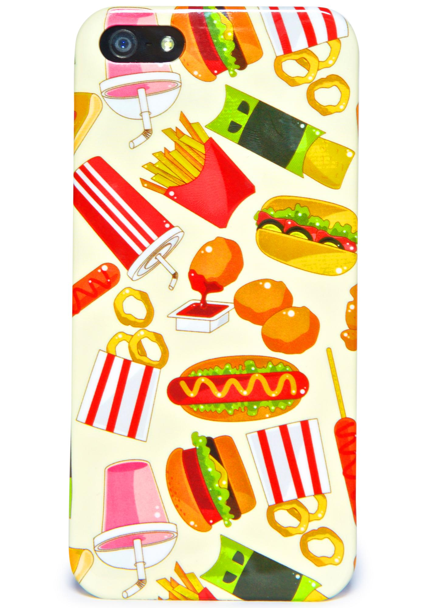 Local Heroes Fast Food iPhone 5 Case