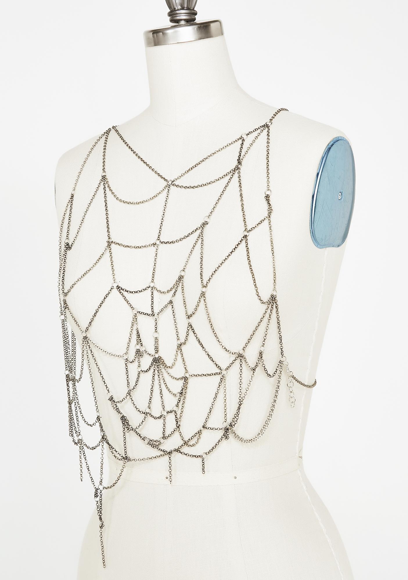 Walk Into My Web Body Chain