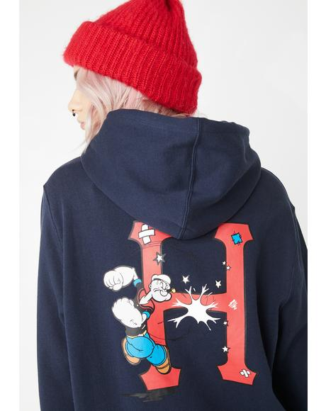 Popeye Classic H Pullover Hoodie