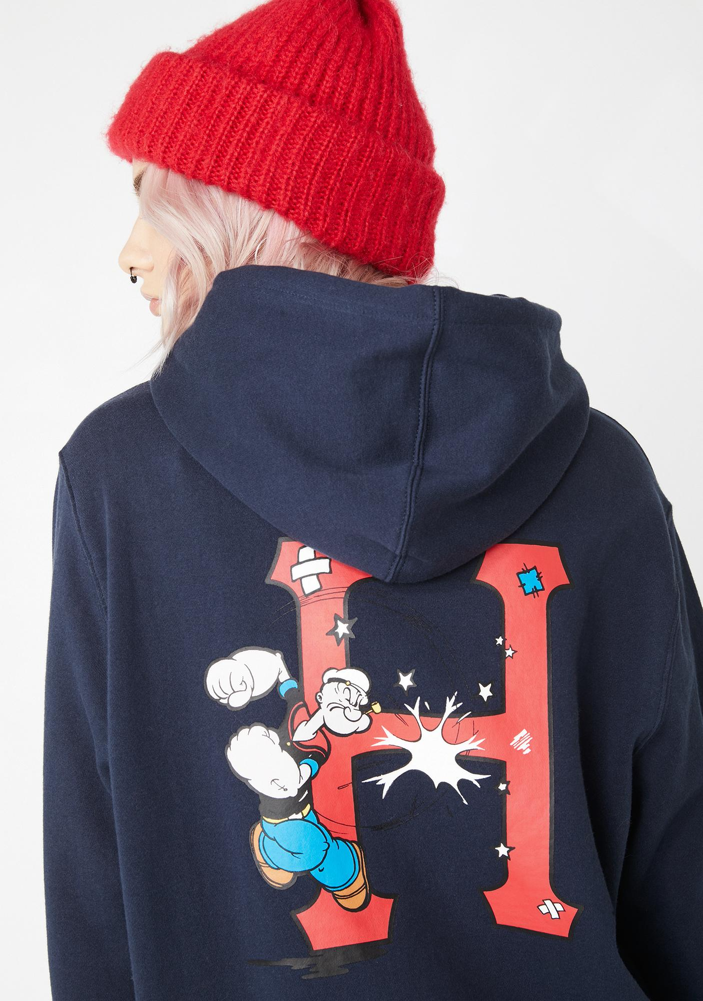 HUF Popeye Classic H Pullover Hoodie