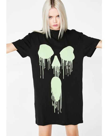 I C Dead People Glowin' Tee